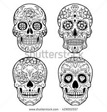 Easy Sugar Skull Day Of by Sugar Skull Stock Images Royalty Free Images U0026 Vectors Shutterstock