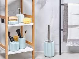 badezimmer zubehör hellblau gorbea ch