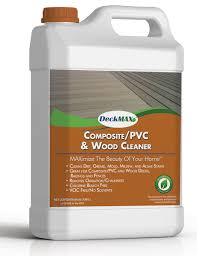 Cleaning Decking With Oxygen Bleach by Eco Friendly Composite Deck