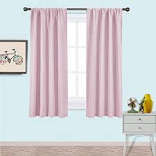 Amazon NICETOWN Blackout Curtains for Girls Room Nursery