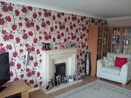 Fresh Ideas Feature Wallpaper Living Room 13 Showcase DAVID J CARLISLE LTD