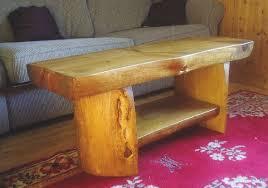 Lovable Log Furniture Plans Build Diy Log Furniture Bed Plans