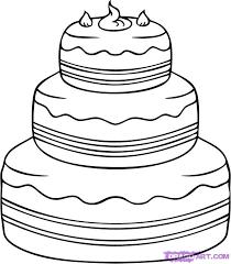 Drawn birthday easy dessert 6