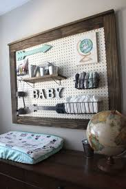 best 25 pegboard nursery ideas on pinterest diaper storage boy