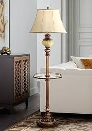 Floor Lamp With Glass Table Attached by Floor Lamps With Tray Table Lamps Plus