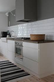 beautiful farmhouse sink subway tile gray gorgeous