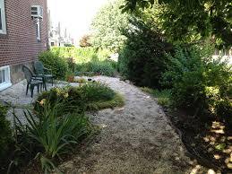 Pea Gravel Patio Plans by Decor U0026 Tips Chic Stacked Stone With Slate For Firepit Ideas Also