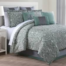 bedding set mint green and grey bedding unhurry comforters sets