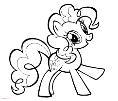 New My Little Pony Coloring Pages Pinkie Pie