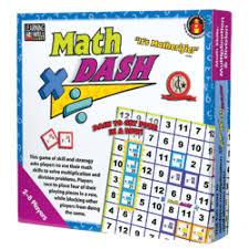 Math Dash Board Games