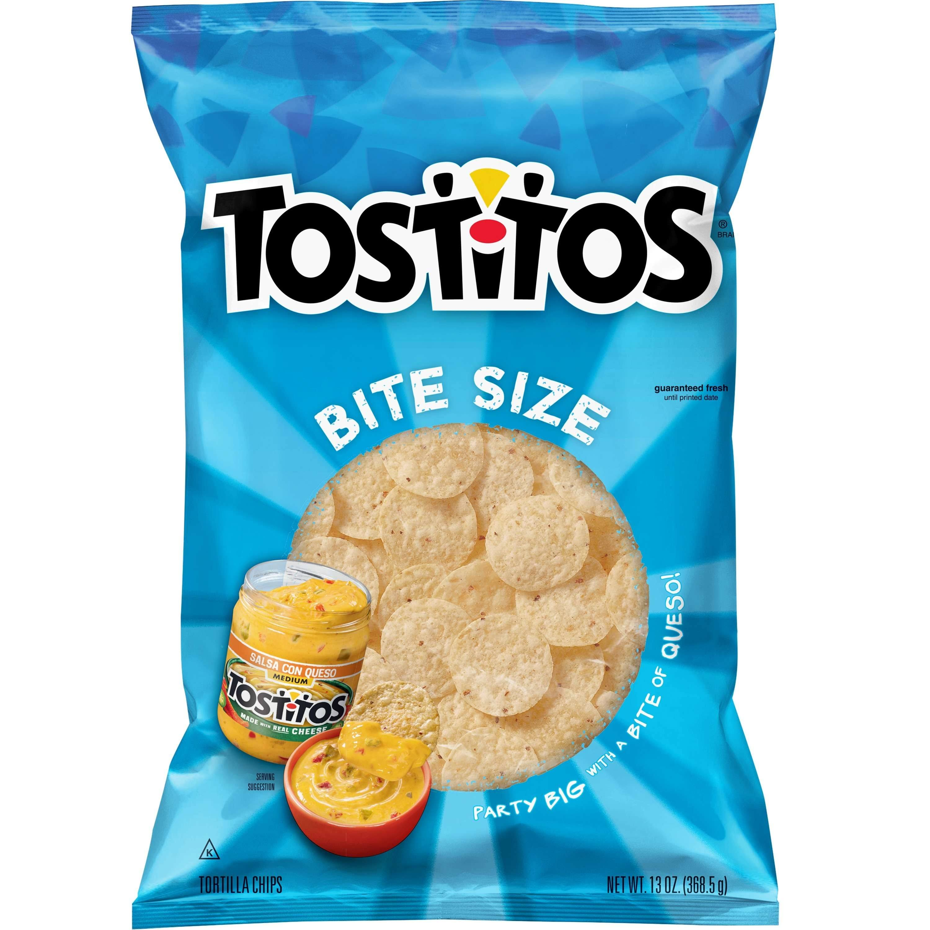 Tostitos Tortilla Chips - Bite Size