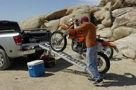 100 Motorcycle Ramps For Pickup Trucks ReadyRamp FullSized Bed Extender Ramp Black 100 Open 60 Bed