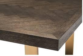 casa padrino luxus esstisch dunkelbraun messing 300 x 115 x h 75 cm luxus esszimmertisch