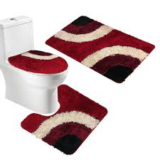 Red Bath Rug Set by Online Get Cheap 3 Piece Bath Mat Set Aliexpress Com Alibaba Group