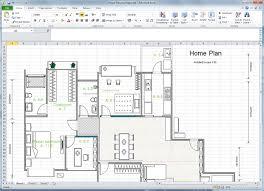 Floor Plan Template Powerpoint by Create Floor Plan For Excel