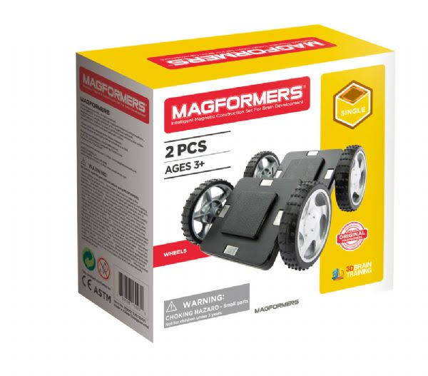 Magformers Wheels 2-Piece Set