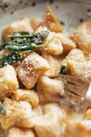 Paleo Pumpkin Chili Feed The Clan by Pumpkin Gnocchi With Sage Butter Sauce Recipe Pinch Of Yum