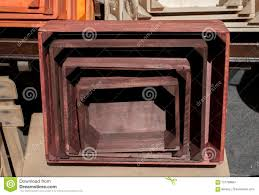 100 Steel Shipping Crates Colorful Wooden Crate Boxes For Sale Stock Photo Image Of