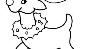Toddler Christmas Coloring Pages Free