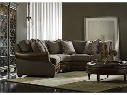 Bradington Young Sofa And Loveseat by Bradington Young 200 Series Custom Arm Collection Of Leather Furniture