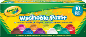 Crayola Bathtub Fingerpaint Soap By Play Visions by Amazon Com Crayola Washable Kids Paint Set Of 10 Bottles 2 Fl Oz