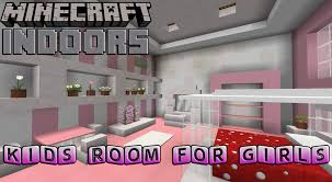 Minecraft Pe Living Room Designs by Kids Bedroom For Girls Minecraft Indoors Interior Design Youtube