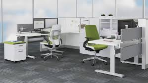 Extended Height Office Chair by Series 7 Electric Adjustable Tables Steelcase