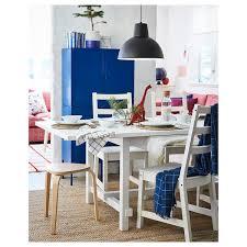 nordviken nordviken tisch und 4 stühle weiß weiß ikea