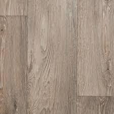 Light Beige Grey Wood Plank Vinyl Flooring R11 Slip Resistant Lino