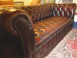 canap cuir occasion canapé cuir marron chesterfield merveilleux canap chesterfield cuir