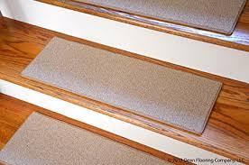 dean non slip free pet friendly diy carpet stair treads rugs