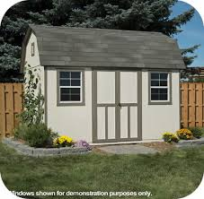 8x12 Storage Shed Kit by Handy Home Products Prefab Wood Storage Sheds U0026 Buildings