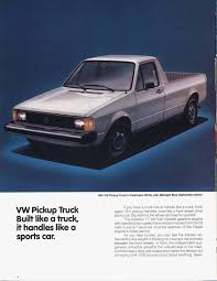 Vw Rabbit Truck Ad | Small Pick-Ups / UTEs | Pinterest | Autos And Golf