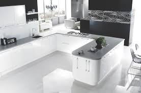 using high gloss tiles for kitchen is interior design