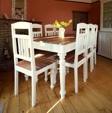 Country Chic Dining Room Ideas by Shabby Chic Pedestal Dining Table Brown Wooden Chair Rustic Dining