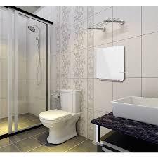 winter 1500 watt timer badezimmer infrarot heizlüfter mit handtuchhalter wand montiert elektrische heizplatte heizung ip24