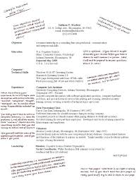 Student Resume Example Examples First Job Jobs For Students In High School