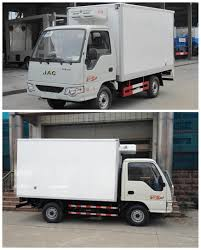 JAC 4*2 Mini Refrigerated Box Truck For Sale For Sale – Refrigerator ...