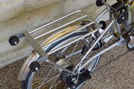 Nitto Rear Rack For Brompton Now available in the U S is Nitto s
