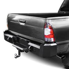 100 Iron Cross Truck Bumpers For Toyota Tacoma 0515 Heavy Duty Series Full Width Black Rear HD