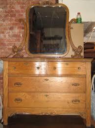 uhuru furniture collectibles antique tiger oak dresser w
