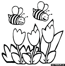 Springtime Printable Coloring Sheets Spring Pages Page Kids Will Love These Free