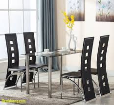 Tall Dining Room Chairs Elegant Kitchen Glass Table Set 6 Seat Modern