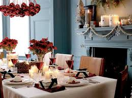 Wonderful Decoration Christmas Dining Room Table Decorations Interior And Home Design Blog