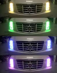 rainbow brites color changing headlights geekologie