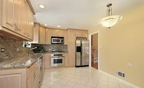 paint colors for kitchen with light cabinets home design and