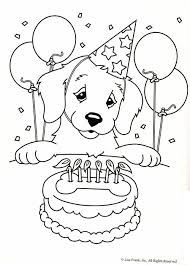 Birthday Coloring Pages 66