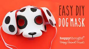 Printable Dog Mask Template Photo Tutorial