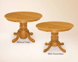 Single Pedestal With Or Without Flutes For 76000 In Dining