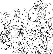 Creation Numbers Coloring Book Create Photoshop Creating Books Free Page Fish Just For Kids